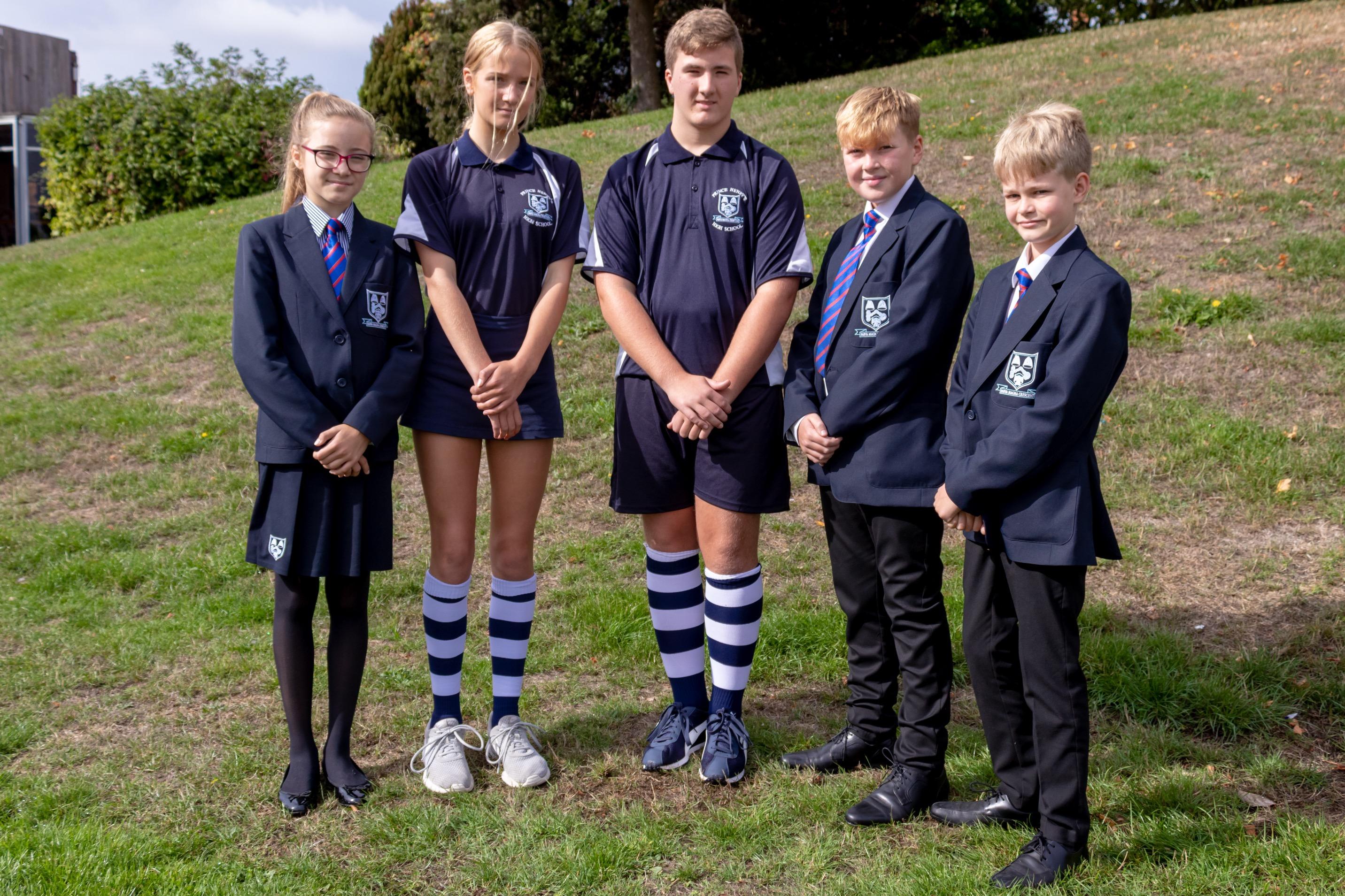 Prince Henry's High School » School Uniform