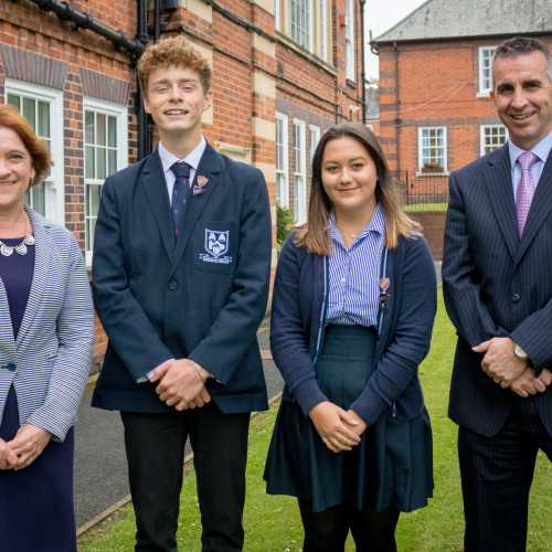 New Head Boy & Girl