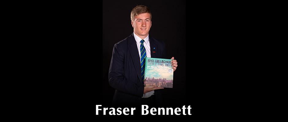 Fraser Bennett at Speech Day 2019