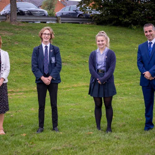 New Head Boy & Head Girl