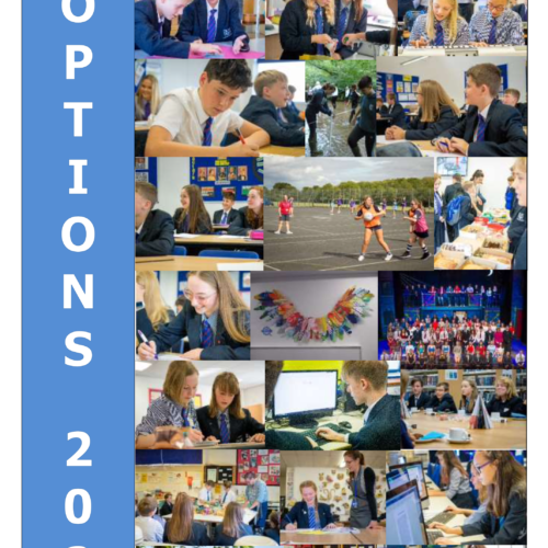 Options Booklet 2021