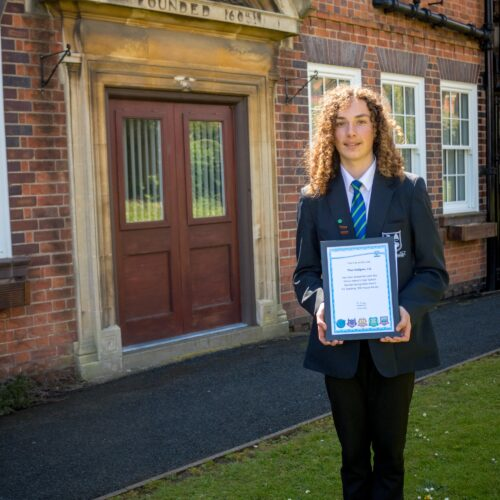 Theo – Special Recognition Award