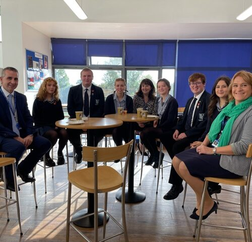 Breakfast with our Head Students